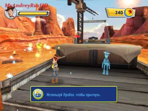Toy Story 3 - История Игрушек 3 - Прохождение 02 - Дом с Привидениями