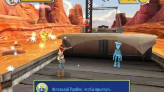 Прохождение История игрушек 3: Большой побег - Часть 1 - Спасение поезда  (Локо Мотивы)