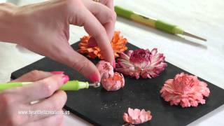 Heartfelt Creations Majestic Morning Flower Shaping Part Two DIY Cardmaking