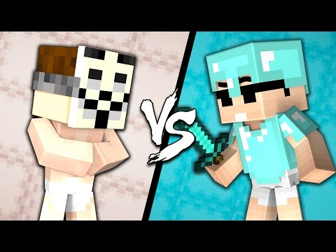Thumbnail: BABY HACKER vs. BABY PRO - Minecraft