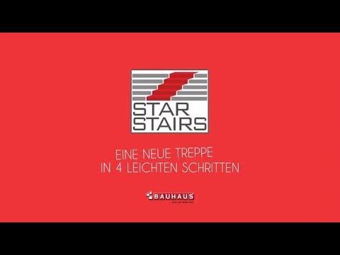Star Stairs Eine Neue Treppe In Vier Leichten Schritten Youtube