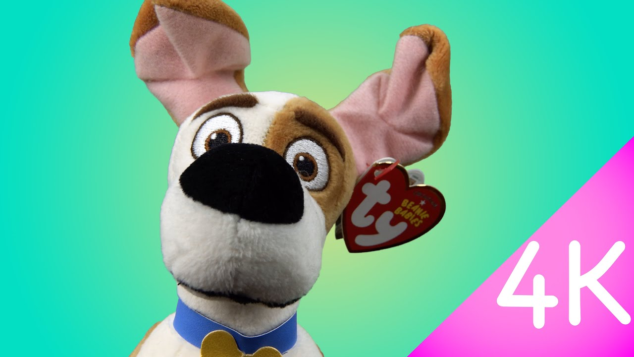 a648fa6f5ef Ty The Secret Life of Pets Beanie Babies - Max 4k - YouTube