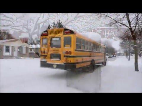 Typical Winter Scenes In London, Ontario - Feb 2016