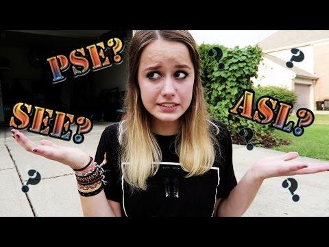 ASL?  PSE??  SEE???