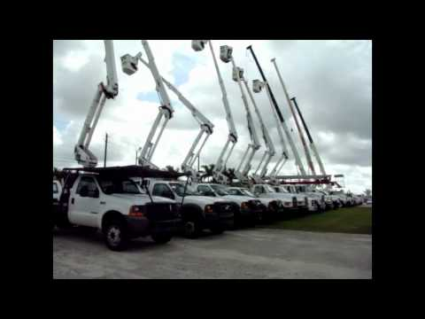 Heavy Equipment And Utility Equipment Auction - West Palm Beach, FL 6/23/12