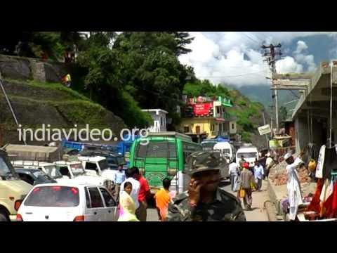 Joshimath town  Uttarakhand