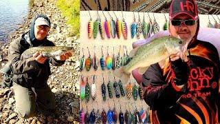 Микро колебалки от Геннадия Кузьменко. Проверенные цвета и модели.