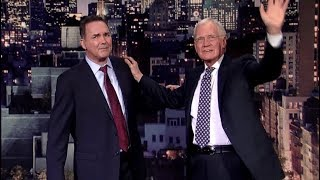 Behind the Scenes From Norm's Last Stand Up on Letterman