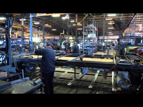 Gorbel Work Station Cranes at Tiffin Motorhomes