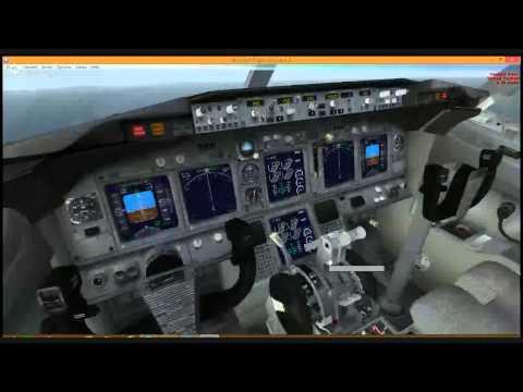 FSX Steam   FlyBeau   LIRA - LMML   737   #9