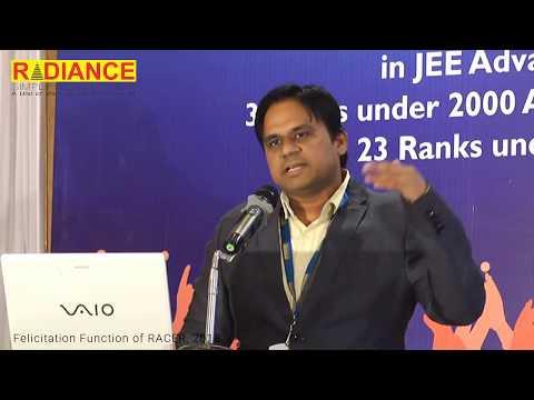 Dinesh Mishra Speaking to Class 10th Aspirants on JEE Mains/ Advanced preparation