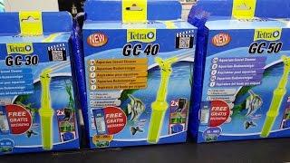 Чем чистить грунт в аквариуме?  TETRA GC50 - Аквариумный грунтоочиститель