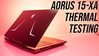 Aorus 15-XA (9750H/2070) Thermal Testing, Overclocking and Undervolting