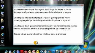 Tutorial como Instalar Yahoo WidGets en Windows