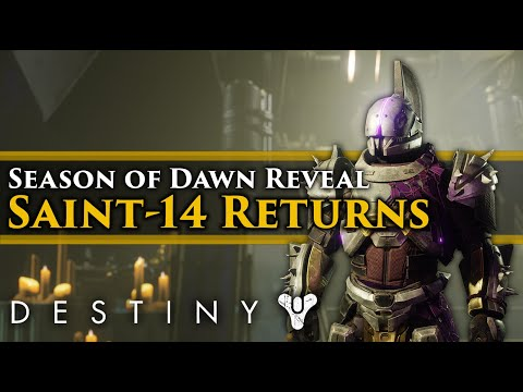 Destiny 2 Lore - Season of Dawn Reveal! Saint-14 Returns! The Shattered Timeline! New Lore!