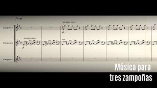 Música para tres zampoñas