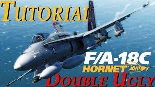 DCS: F/A-18C Hornet   The Double Ugly Loadout Tutorial!   Asymmetric Loadouts