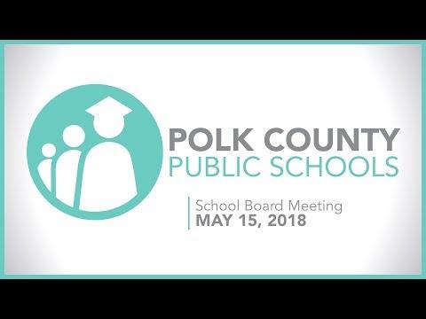 School Board Meeting | May 15th, 2018