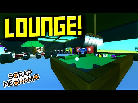 MILITARY LOUNGE and INSTALLING ARMORY! [FMB 23] - Scrap Mechanic Gameplay