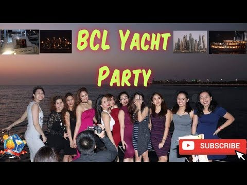Emirates business class lounge staff yatch cruise party 2017 dubai