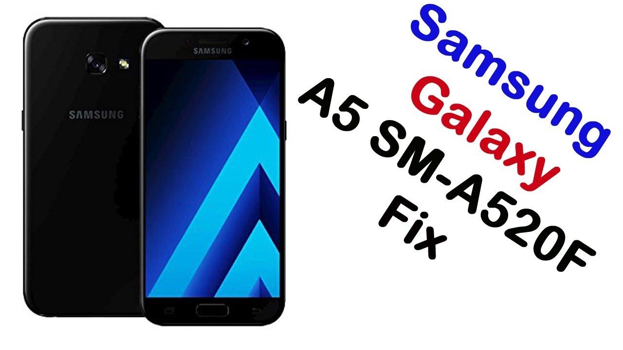 How to Samsung Galaxy A5 SM-A520F Firmware Update (Fix ROM)