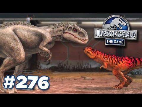 Indominus Rex + T.Rex Grudge Match!    Jurassic World - The Game - Ep276 HD