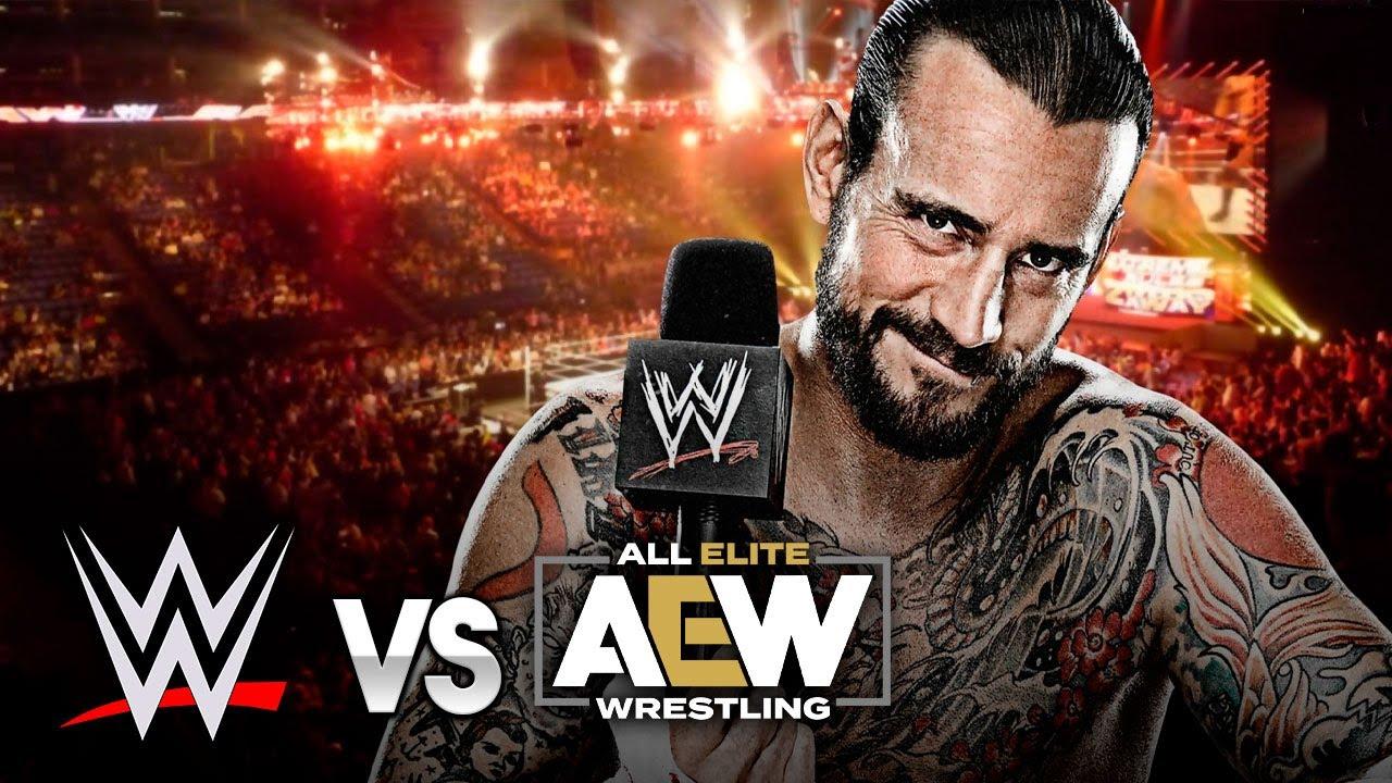 CM PUNK ESTÁ DE REGRESO| WWE vs AEW