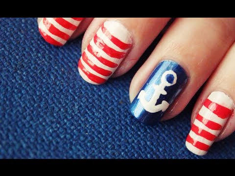 Uñas Marineras , Nautical Nails