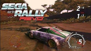 Sega Rally Revo  - Lancia Stratos - Safari 6 (PC)