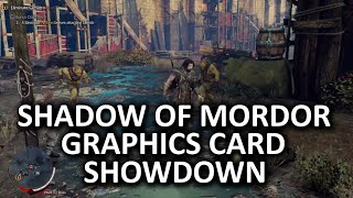 middle earth shadow of mordor graphics card showdown benchmarking procedure