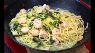 Макароны с КРЕВЕТКАМИ по итальянски Вот почему итальянцы кушают макароны каждый день