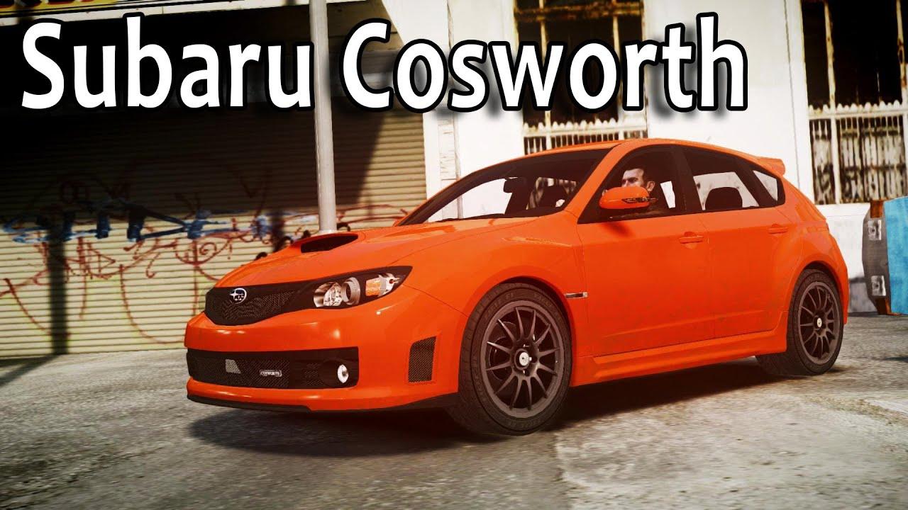 GTA IV - Subaru Impreza Cosworth STI CS400 - YouTube