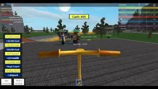 How to ride a Golden Scooter in Roblox