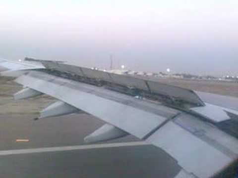 kuwait airways landing in kuwait international airport
