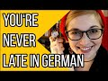 Learn German A2 | Being Late in German (...and Why You're Saying it Wrong) || Deutsch Für Euch 117