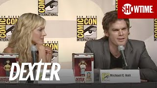 dexter comic con 2009 panel most challenging scenes to film