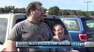Absentee Voting Affected by Stamp Knowledge