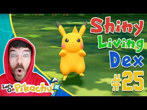 PIKACHU SHINY HUNTING! Pokemon Let's GO Live Stream