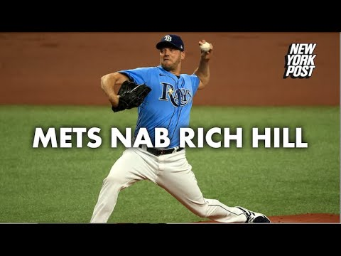 New York Mets acquire Tampa Bay Rays left-hander Rich Hill in ...
