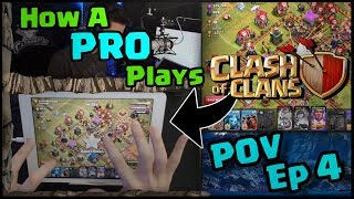 How a Pro Plays Clash of Clans | Air Raiding - Town Hall 12 | POV - Ep 4
