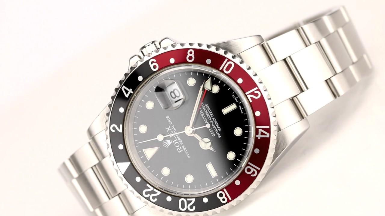 5bb8e37d961 Les montres Rolex Gmt-Master 2 d occasion de demcoquartz.com - YouTube