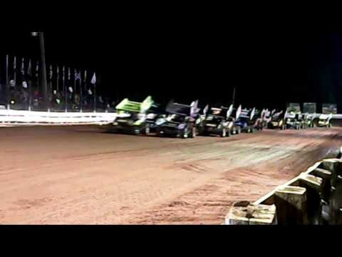 Williams Grove Speedway 410 and 358 Sprint Car Highlights 05-27-16