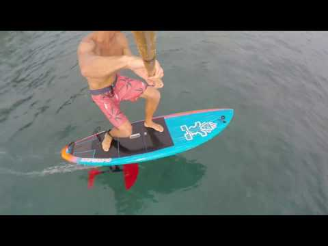 Foil Daze Surfing the Hydrofoil in HD with Slow Motion