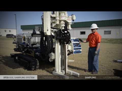 Geoprobe® DT22 Soil Sampling System