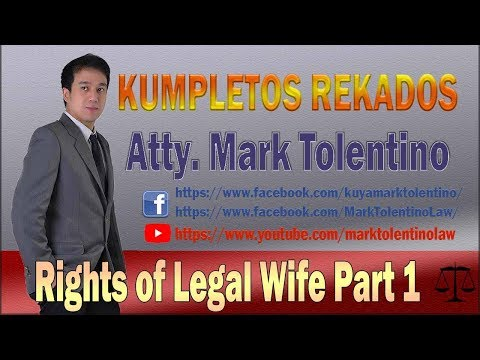rights of legal wife part 1