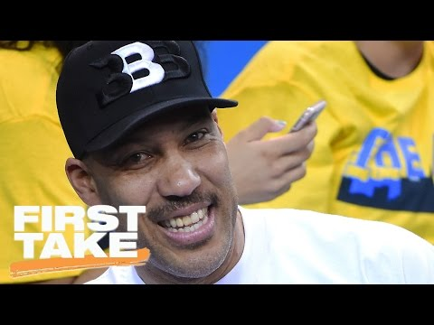 Ryan Clark Reacts To LaVar Ball's 'White Guys' Comments | First Take | April 7, 2017