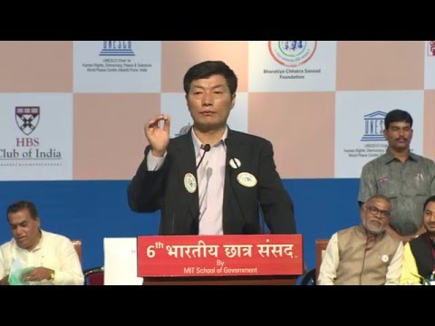 6th BCS - Session #8: Address by Dr. Lobsang Sangay