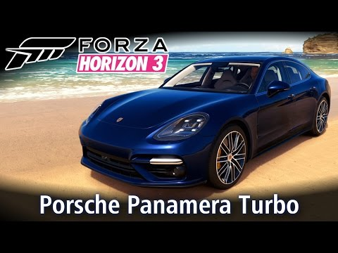 Porsche Panamera Turbo - NAVE 4.0 V8! 😲 Top Speed e Rachas | Forza Horizon 3