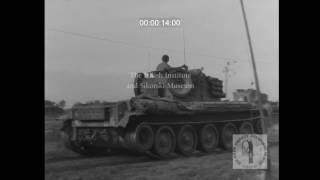 SIK 1212 - 1st Polish Armoured Division/Funeral of Herz Dobrzynski