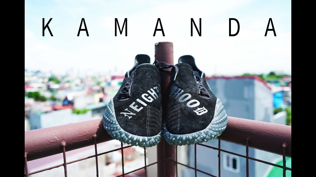 finest selection c2ee4 413df Adidas KAMANDA X NEIGHBORHOOD / CRAZIEST SNEAKER OF THE YEAR!